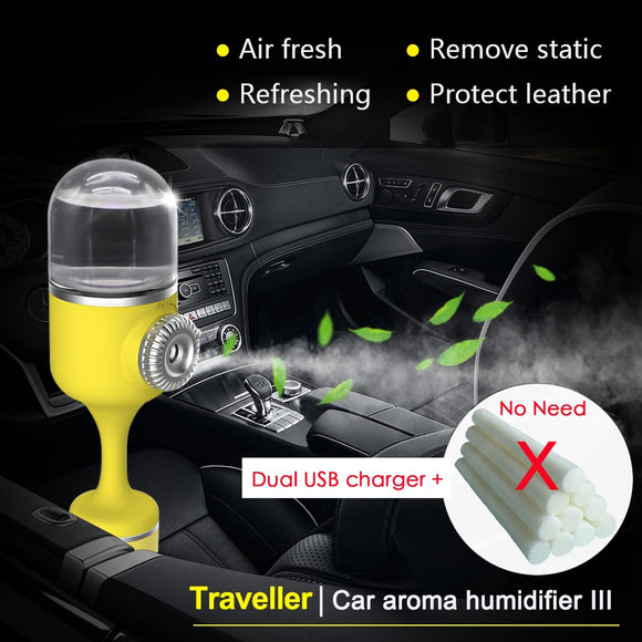 Nanum Car Aroma Humidifier Cool mist Diffuser Ultrasonic Aromatherapy 70ML