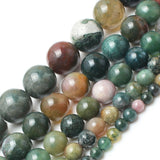 Natrual Stone Beads Indian Agate Stone Beads 4/6/8/10/12/14mm 15inches Diy Jewelry