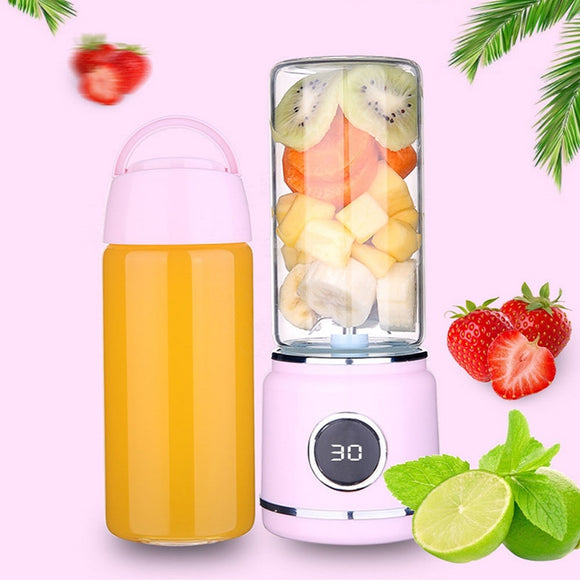 Portable Electric Juicer Blender USB Fruit Mixers Juicer Cup Fruit Extractors Food