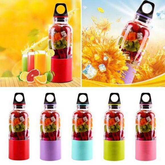 Portable Juicer Cup USB Rechargeable Electric Automatic Bingo Benko Vegetables Fruit