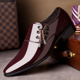 Business Dress Shoes Men Formal Wedding Footwear Pointed Toe