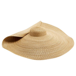 Oversized Brim straw sun hat