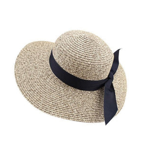 Wawed Brim Sun Hat