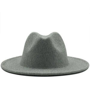 Wool Short Brim Fedora