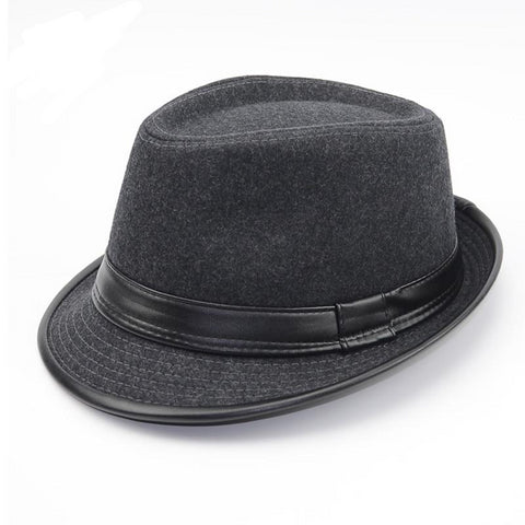 Flat top Jazz Fedora