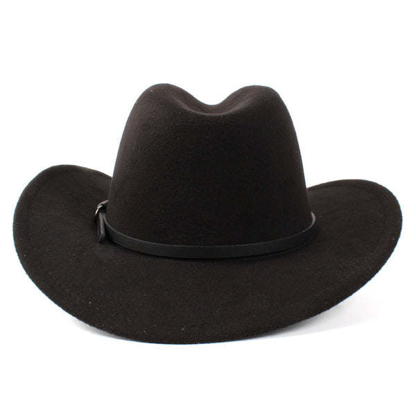 Western Hat with Minimal Leather strap