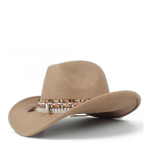Wool Cowboy Lady Hat