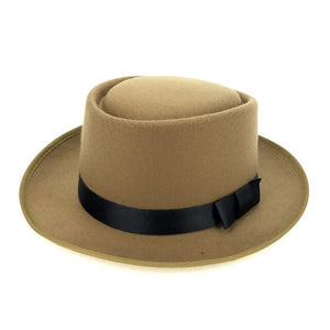 Structured Pork pie hat