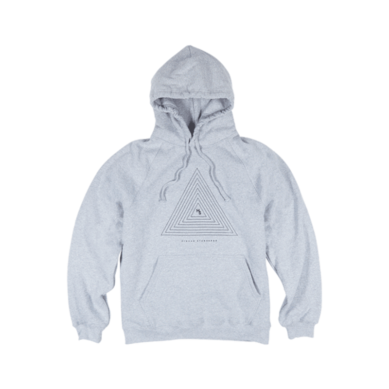 Higher Standards Hoodie - Concentric Triangle-Blazed Vapes