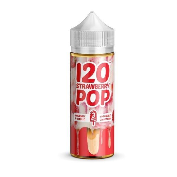 Mad Hatter Strawberry Pop 120ml Vape Juice-Blazed Vapes