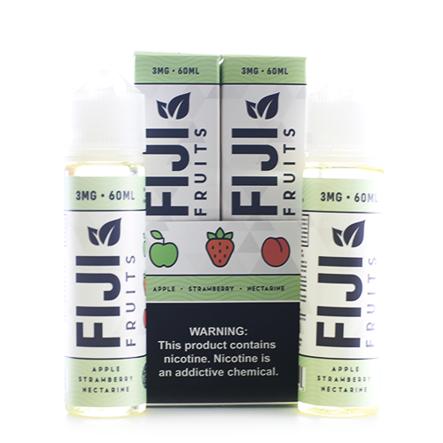 Fiji Fruits Apple Strawberry Nectarine 2x60ml Vape Juice-Blazed Vapes