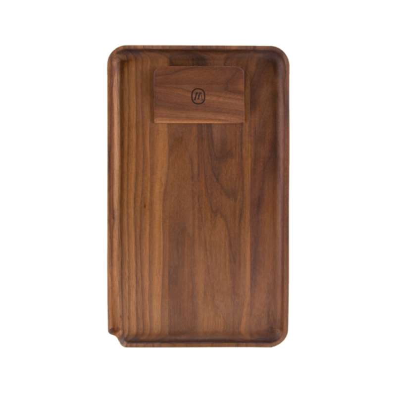 Marley Natural Black Walnut Rolling Tray-Blazed Vapes