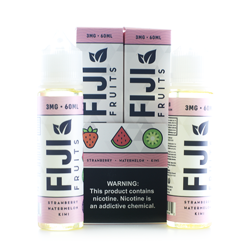 Fiji Fruits Strawberry Watermelon Kiwi 2x60ml Vape Juice-Blazed Vapes