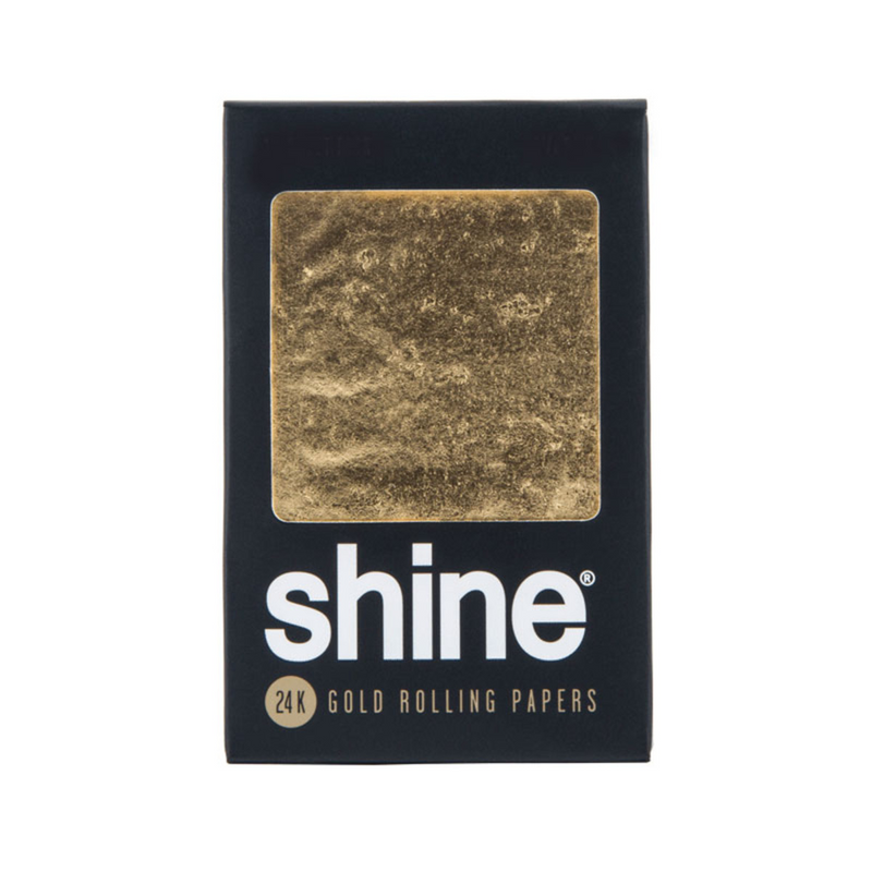 Shine 24K Gold Rolling Papers - King Size-Blazed Vapes