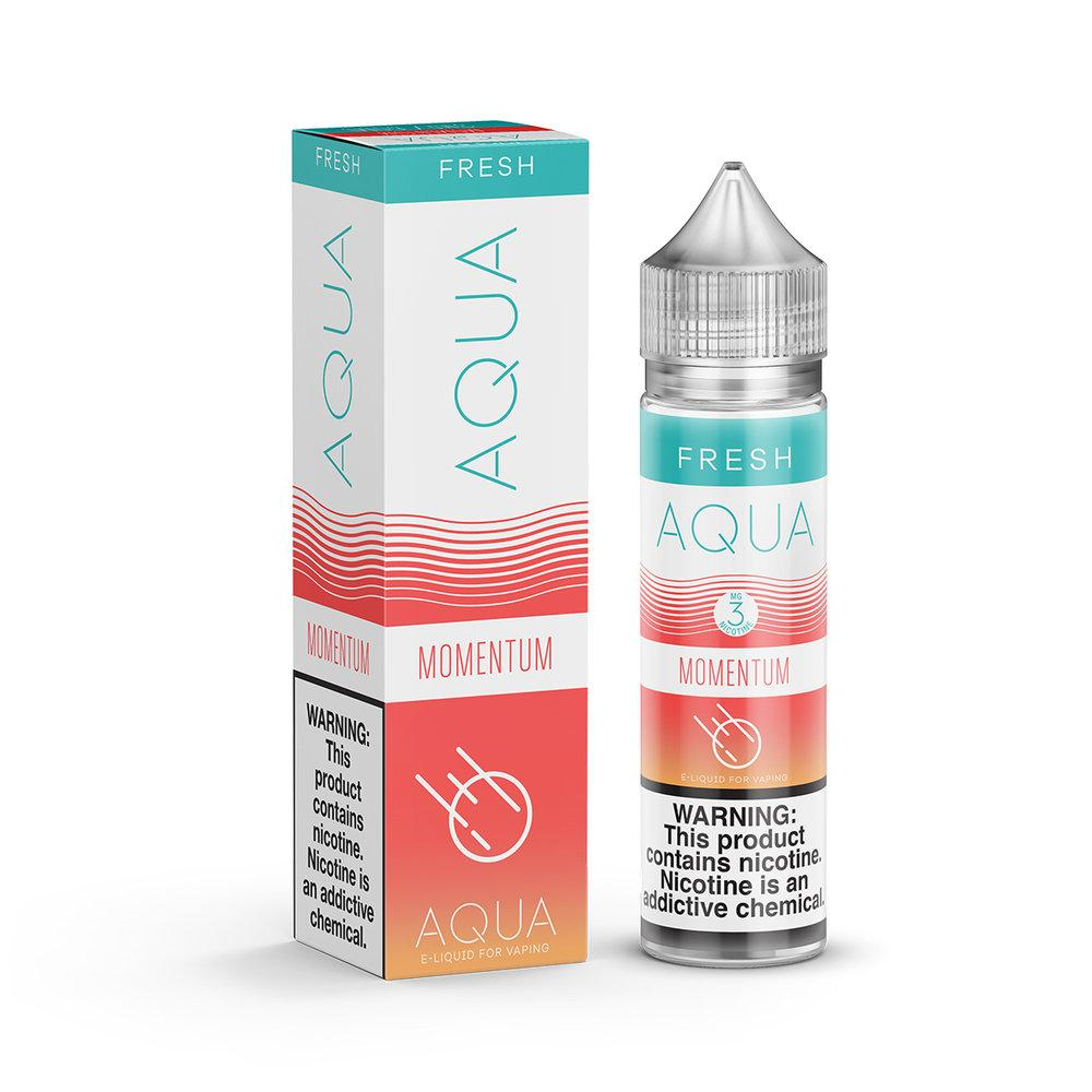 Aqua Fresh Momentum 60ml Vape Juice-Blazed Vapes