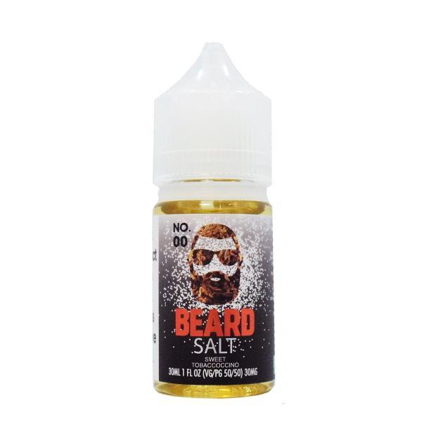 Beard Vape Co Salts No. 00 Cappuccino Tobacco 30ml Nic Salt Vape Juice-Blazed Vapes