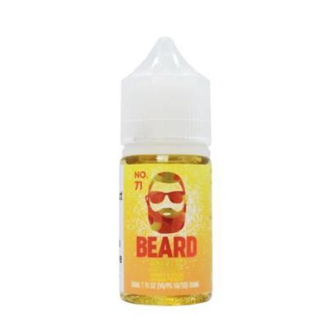 Beard Vape Co Salts No. 71 Sweet & Sour Sugar Peach 30ml Nic Salt Vape Juice-Blazed Vapes