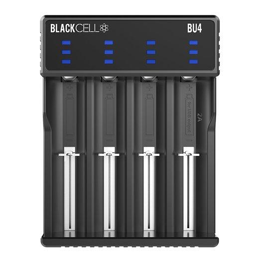 Blackcell BU4 Battery Charger-Blazed Vapes