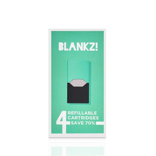 Blankz JUUL Compatible Refillable Pods (Pack of 4)-Blazed Vapes