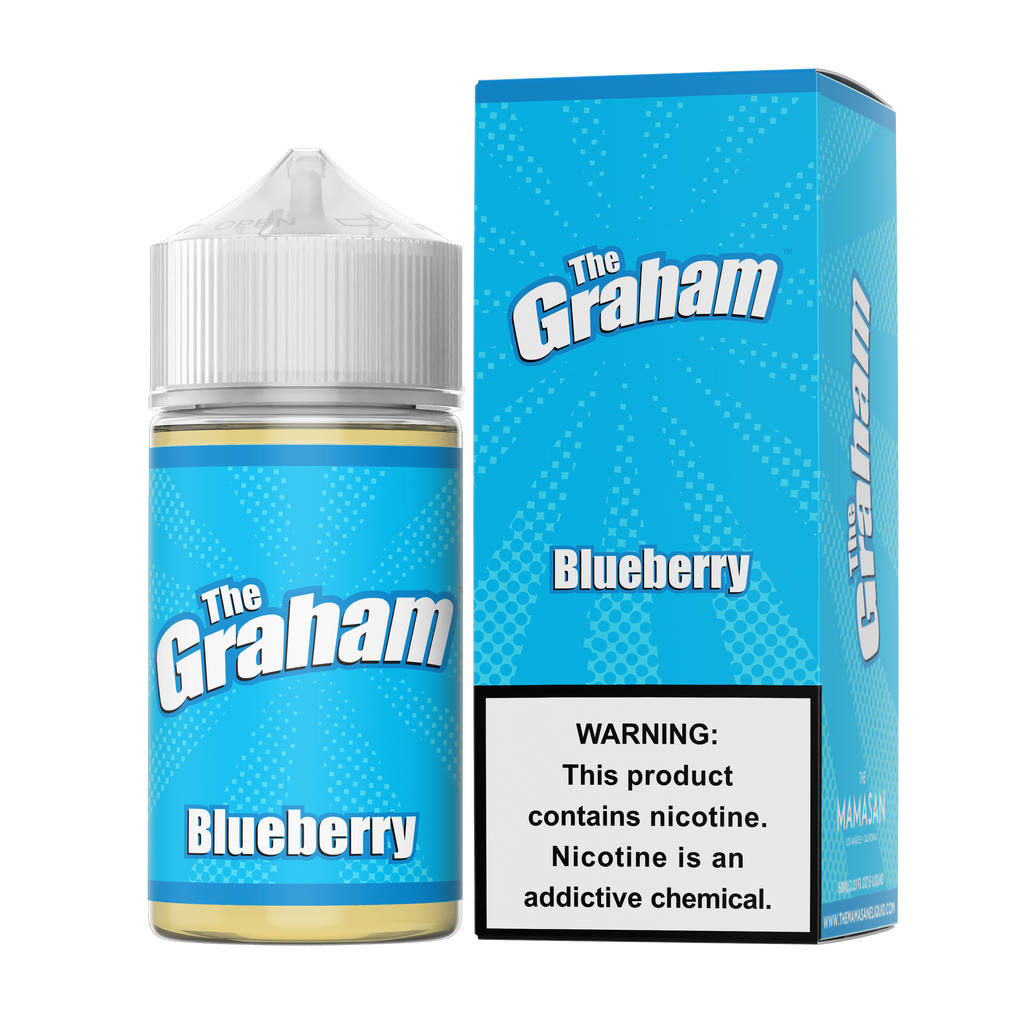 Blueberry 60ml Vape Juice - The Graham-Blazed Vapes