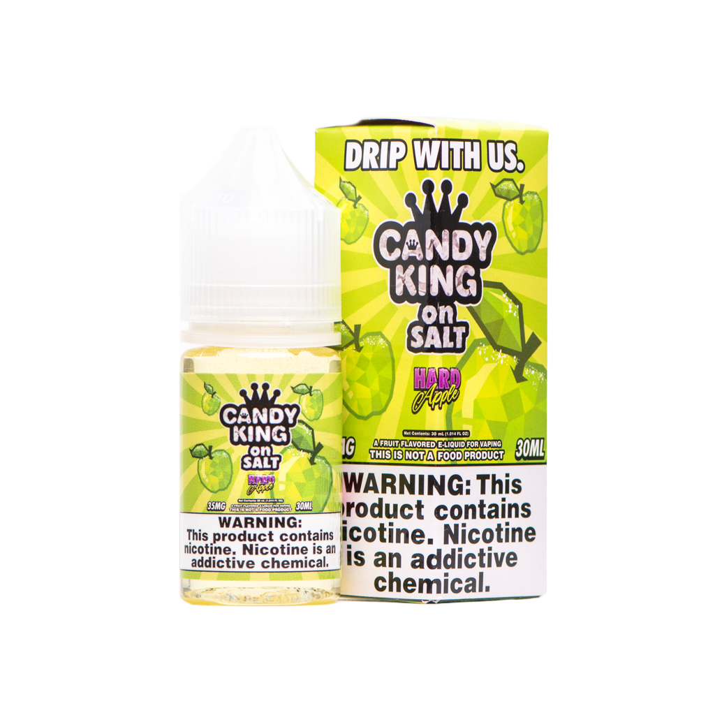 Candy King On Salt Hard Apple 30ml Nic Salt Vape Juice-Blazed Vapes