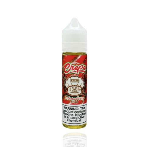 Crepe Liquid Strawberry Crisp 60ml Vape Juice-Blazed Vapes