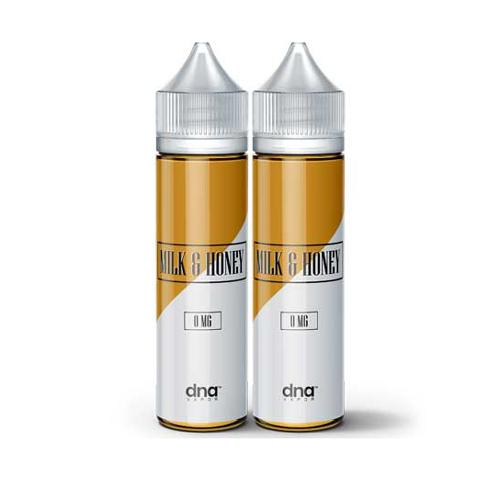DNA Vapor Milk & Honey 2x60ml Vape Juice