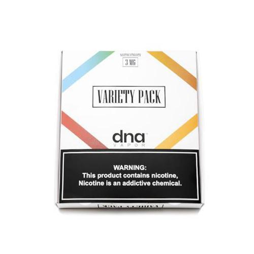 DNA Vapor Variety Pack 3x60ml Vape Juice-Blazed Vapes