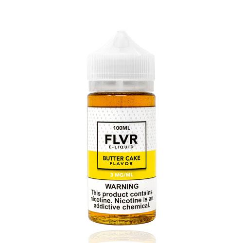 FLVR Butter Cake 100ml Vape Juice-Blazed Vapes