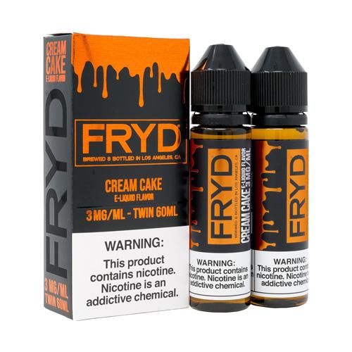 FRYD Cream Cake 2x60ml Vape Juice-Blazed Vapes