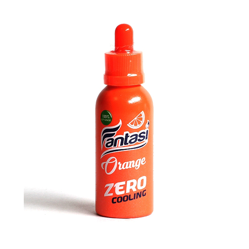 Fantasi Zero Cooling Orange 65ml Vape Juice-Blazed Vapes