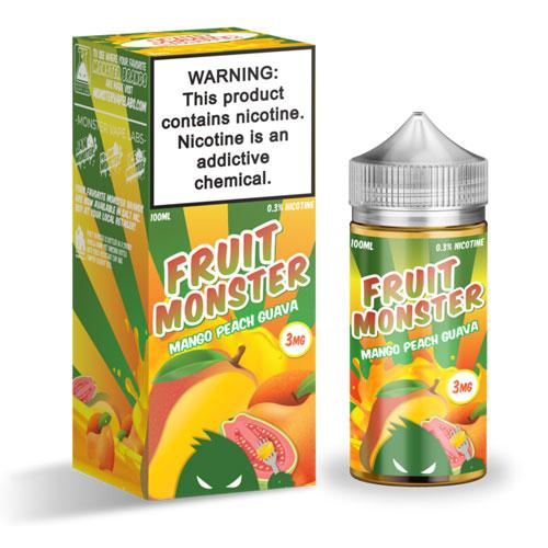 Fruit Monster Mango Peach Guava 100ml Vape Juice-Blazed Vapes