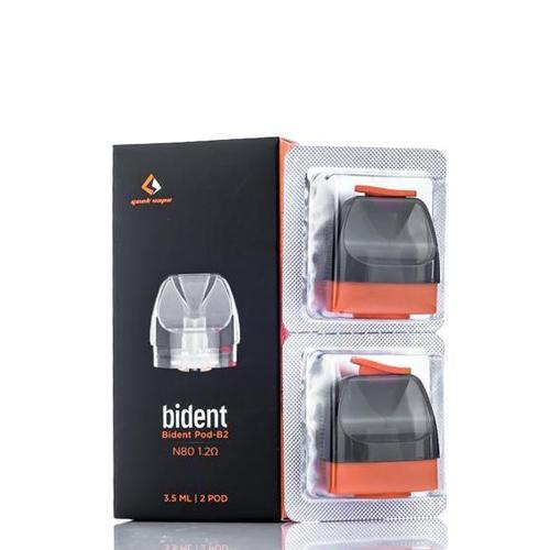 GeekVape Bident Replacement Pod Cartridges (Pack of 2)-Blazed Vapes