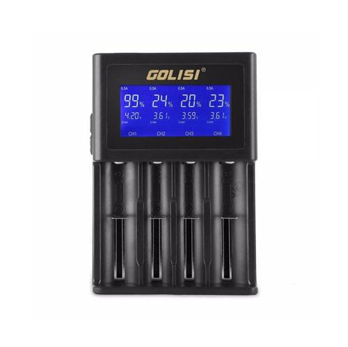 Golisi S4 2A Smart Battery Charger-Blazed Vapes