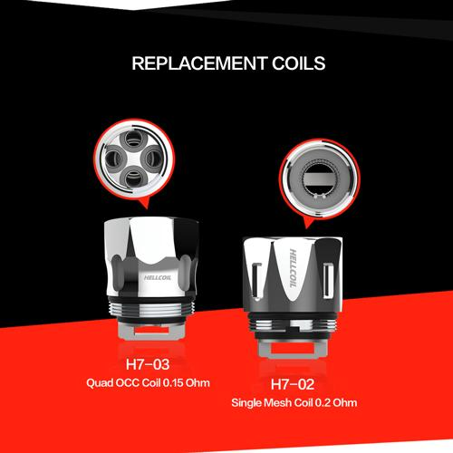 Hellvape Hellcoils Replacement Coils (Pack of 3) | For the Fat Rabbit Tank-Blazed Vapes