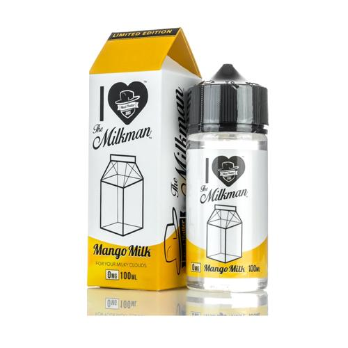 I Love The Milkman Mango Milk 100ml Vape Juice-Blazed Vapes