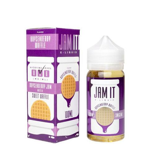 Jam It Boysenberry Waffle 100ml Vape Juice-Blazed Vapes