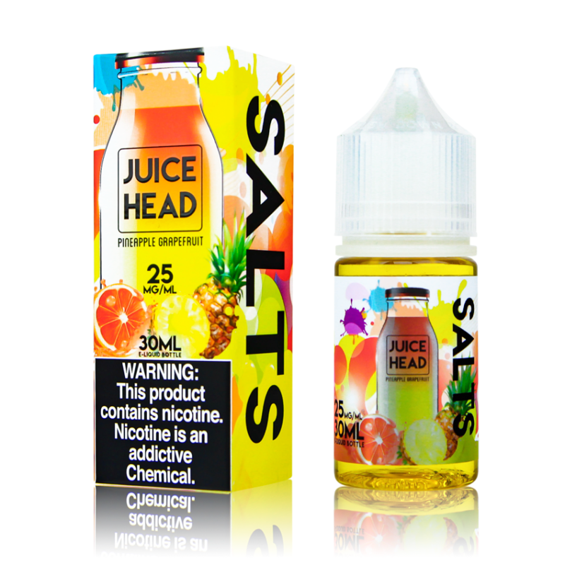 Juice Head Salts Pineapple Grapefruit 30ml Nic Salt Vape Juice-Blazed Vapes