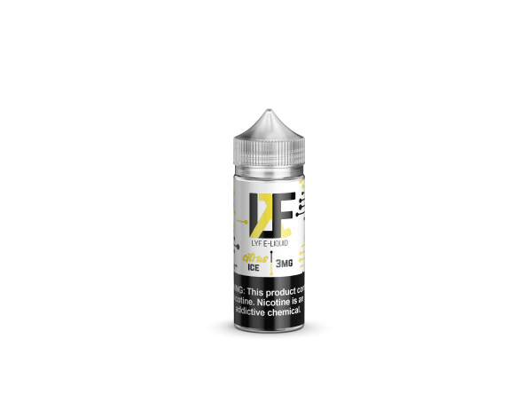 LYF Citrus Ice 100ml Vape Juice-Blazed Vapes