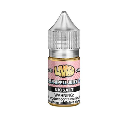 Loaded Salts Cran Apple Juice ICE 30ml Nic Salt Vape Juice-Blazed Vapes