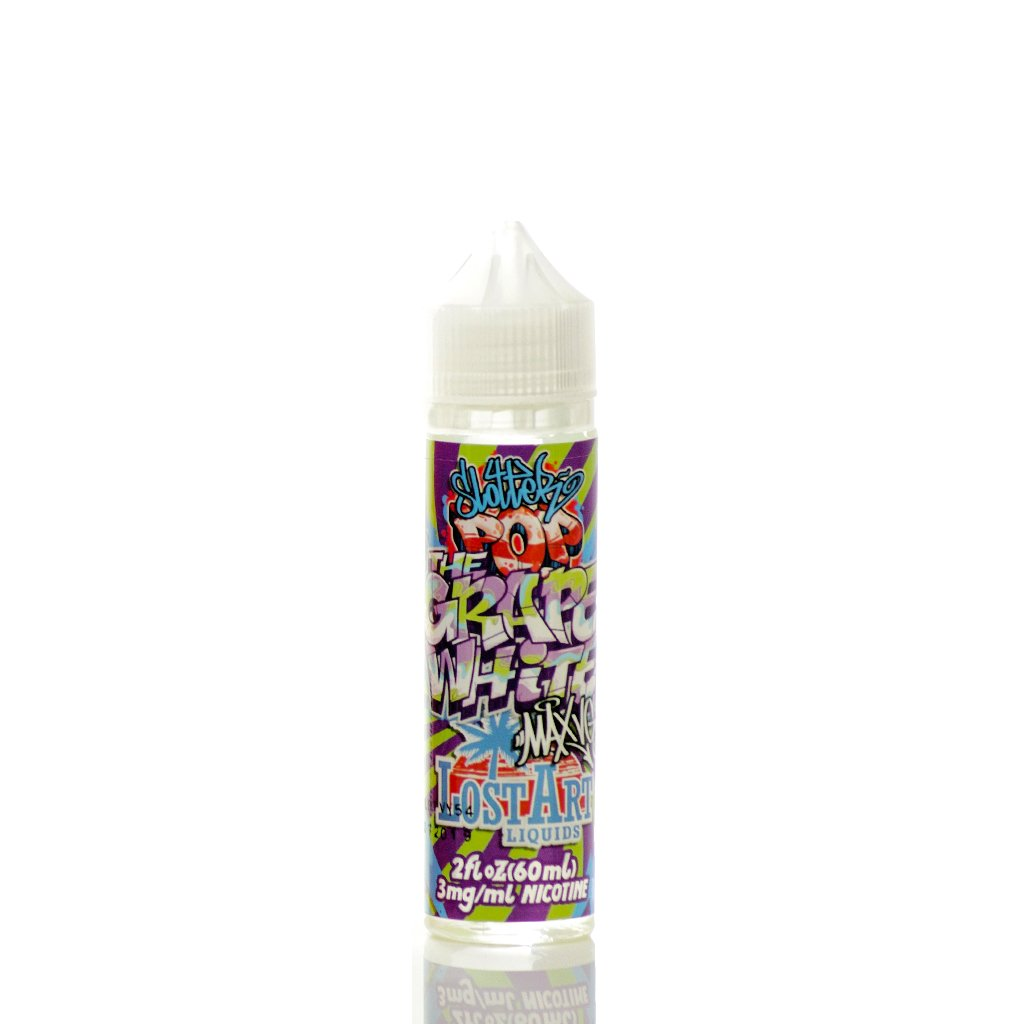 Lost Art MAX VG The Grape White 60ml Vape Juice-Blazed Vapes
