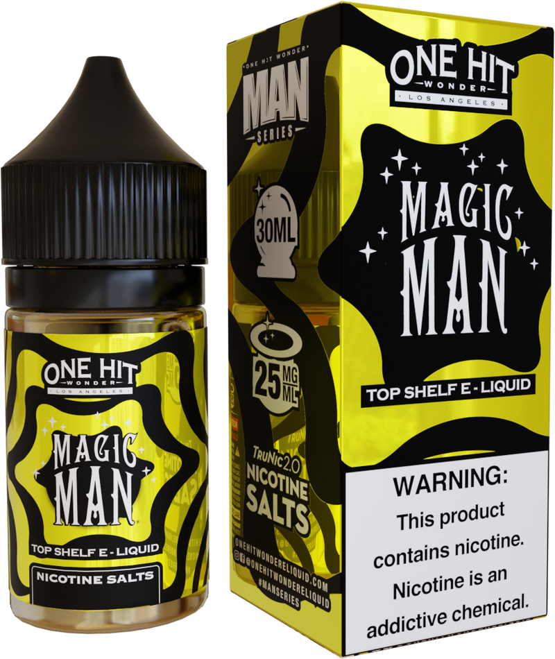 One Hit Wonder Magic Man 30ml Nic Salt Vape Juice-Blazed Vapes