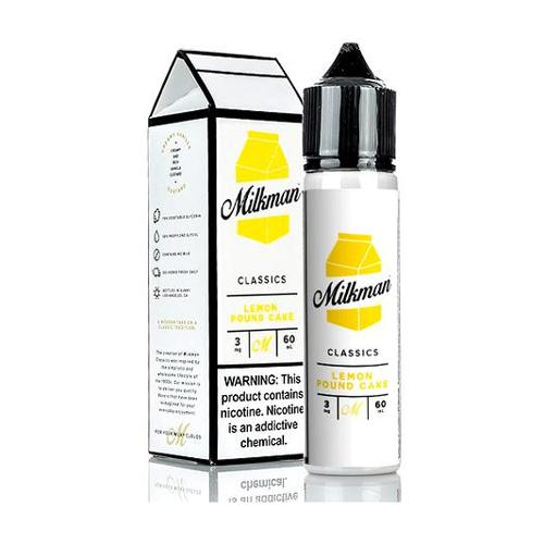 Milkman Delights Lemon Pound Cake 60ml Vape Juice-Blazed Vapes