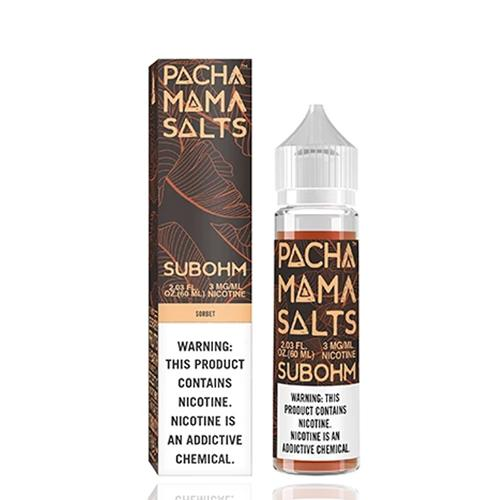 Pachamama Subohm Salts Sorbet 60ml Vape Juice-Blazed Vapes