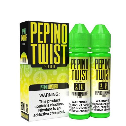 Pepino Twist Pepino Lemonade 2x60ml Vape Juice-Blazed Vapes