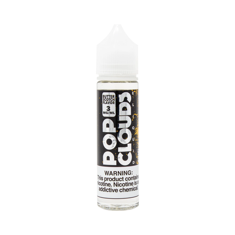 Pop Clouds Butterscotch 60ml Vape Juice-Blazed Vapes