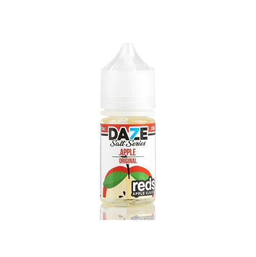 7 Daze Reds Salts Apple 30ml Nic Salt Vape Juice-Blazed Vapes