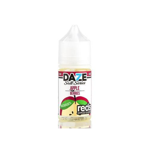 7 Daze Reds Salts Berries 30ml Nic Salt Vape Juice-Blazed Vapes