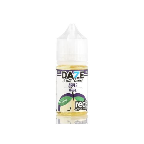 7 Daze Reds Salts Grape 30ml Nic Salt Vape Juice-Blazed Vapes