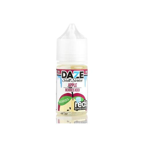 7 Daze Reds Salts Berries ICED 30ml Nic Salt Vape Juice-Blazed Vapes